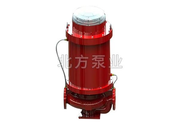DZFS低噪音防水浸立式消防泵
